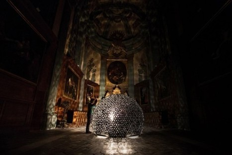 Lotus Dome Light Installation | pour thp | Scoop.it