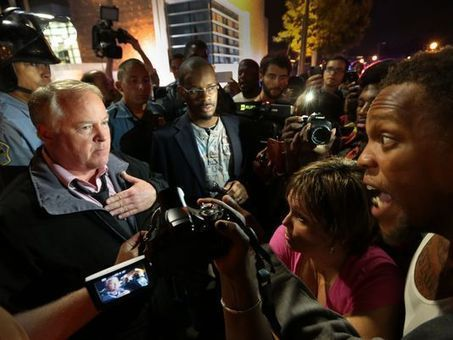 Police make arrests in Ferguson after chief's apology | Upsetment | Scoop.it