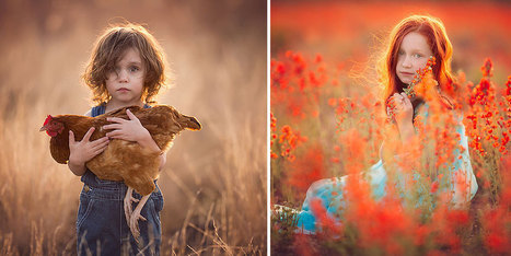Arizona Mother Of 10 Takes Magical Portraits Of Kids Outdoors | PréoccuPassions | Scoop.it