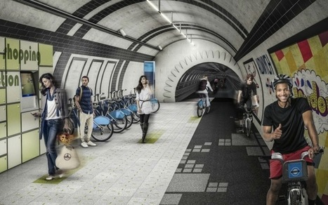 Les tunnels du métro londonien bientôt aménagés en pistes cyclables ? | Dans l'actu | Doc' ESTP | Scoop.it