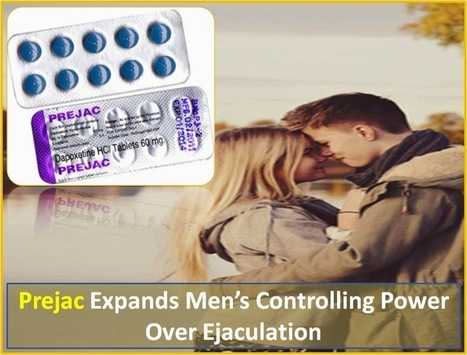 Prejac Expands Men's Controlling Power Over Ejaculation | Health | Scoop.it
