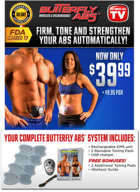 Butterfly Abs Toning System | As Seen on TV | Scoop.it