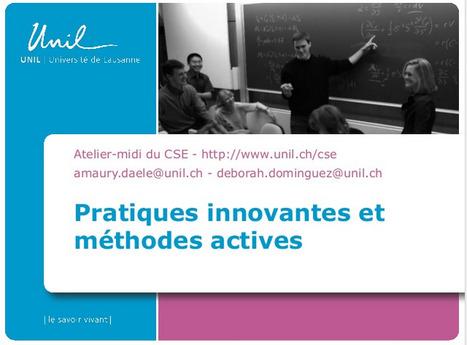 ENSEIGNER | 12 pratiques pédagogiques actives pour l'enseignement supérieur | Pédagogie en enseignement supérieur | Scoop.it