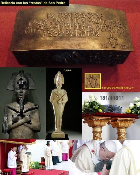 PUTAS PARANOIAS: El Papa Francisco muestra el relicario con los restos de San Pedro | N.O.W (Signs of the Times) | Scoop.it