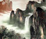 Chinese Waterfall Paintings for sale! | Artisoo Chinese Painting | Scoop.it