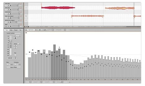 Celemony Melodyne can now dive into overtones and spectra | Synesound Studios | Scoop.it