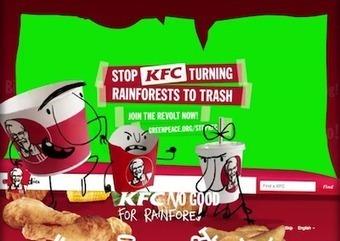 Insolite : quand Greenpeace s'en prend au roi du poulet KFC ! | Actualité de l'Industrie Agroalimentaire | agro-media.fr | Scoop.it