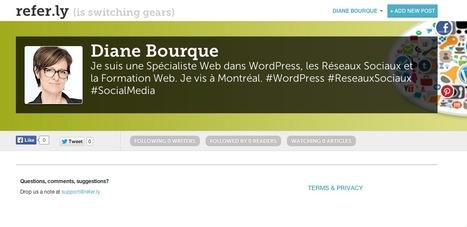 Diane Bourque @ Referly | Diane sur le Web | Scoop.it