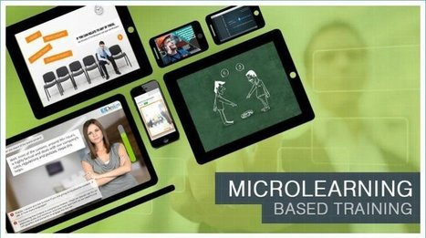 5 Killer Examples: How To Use Microlearning-Based Training Effectively - eLearning Industry | Didactic use of Video in Higher Education | Scoop.it