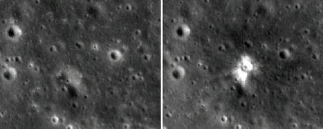 'Shrapnel' risk to Moon missions | Shock Physics | Scoop.it