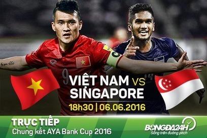 TRỰC TIẾP Việt Nam vs Singapore AYA bank cup 18h30 ngày hôm nay 6/6   Trang tin tức   Scoop.it
