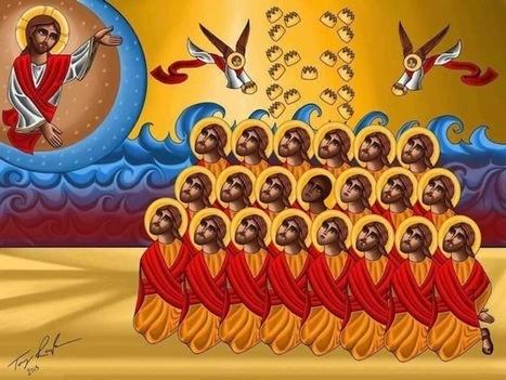 Les 21 martyrs coptes ont leur icône   Nouvelles de France et du monde   Scoop.it