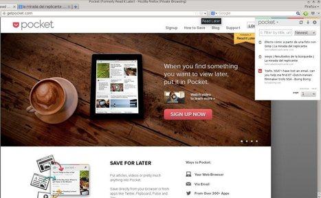 Pocket: un servicio para leer artículos...algo más tarde.   Educacion, ecologia y TIC   Scoop.it