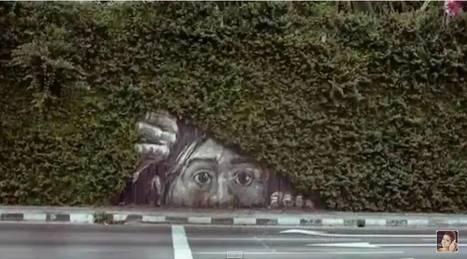 Amazing 3D Street Art Drawing, Anamorphic Illusion Coloring [Part 5] - Street I Am | Art 'S Passion | Scoop.it