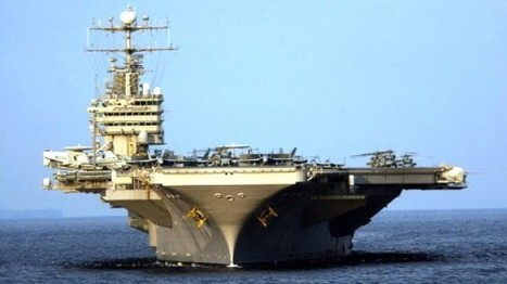 U.S. naval carrier group positioned closer to Iran | GOSSIP, NEWS & SPORT! | Scoop.it