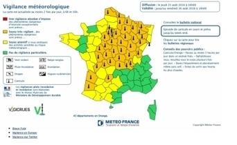 Canicule : l'Alsace en vigilance jaune | Alsace Actu | Scoop.it
