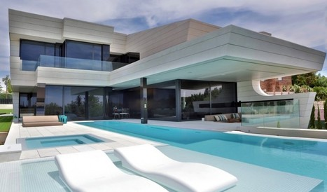 Imposing Family House in Madrid With a Futuristic Twist by A-cero | FutureChronicles | Scoop.it