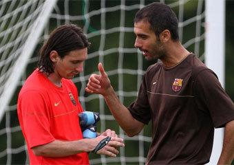 Así fue la primera charla de Guardiola en el Barça | BALONCESTO 3.0 | Scoop.it
