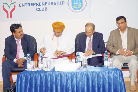MoU signed for Entrepreneurship Campus - P Mohamed Ali | Some Must Reads | Scoop.it