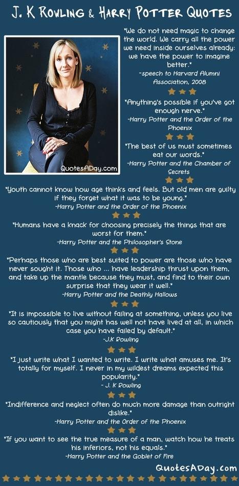 J. K. Rowling & Harry Potter Quotes | Inspiring Women Leaders | Scoop.it