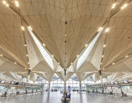 Pulkovo International Airport / Grimshaw Architects + Ramboll + Pascall+Watson | Architecture, design & algorithms | Scoop.it
