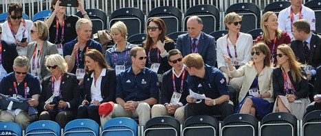 Zara's fan club: Royals watching an Olympian of their own | Equestrian Olympics 2012 | Scoop.it