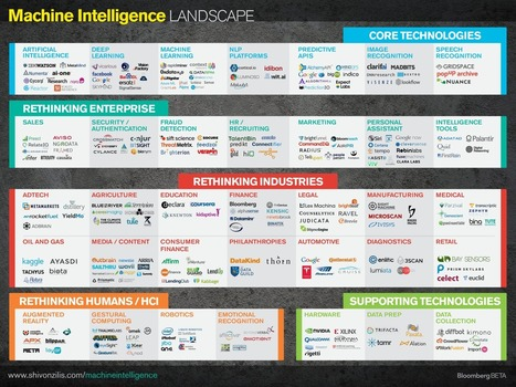 Hugo E. Martin's Blog : Landscape: The Current State of Machine Intelligence | Feed | Scoop.it