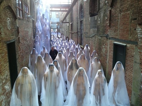 Spencer Tunick : Installation Photo-Censored | Art Installations, Sculpture, Contemporary Art | Scoop.it