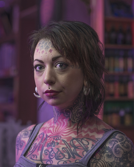 Striking Photos Of Inked Individuals Who Proudly Don Face Tattoos | The Huffington Post | Kiosque du monde : A la une | Scoop.it