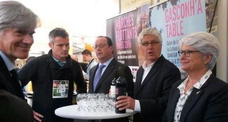 Le président de la République rend une visite aux producteurs du Sud-Ouest | Les Tables du Gers | Scoop.it