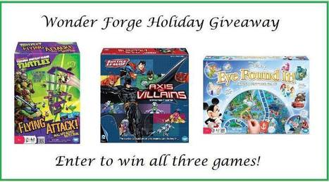 Wonder Forge Games Giveaway ends 12/16 | CLOVER ENTERPRISES ''THE ENTERTAINMENT OF CHOICE'' | Scoop.it