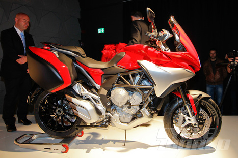 2014 MV Agusta Turismo Veloce 800 – First Look New Italian sport-tourer is based on middleweight three-cylinder platform. | sport et divertissement | Scoop.it