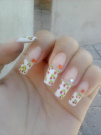 Viva el Nail art !: Nail art guindas *-* | Vulbus Incognita Magazine | Scoop.it