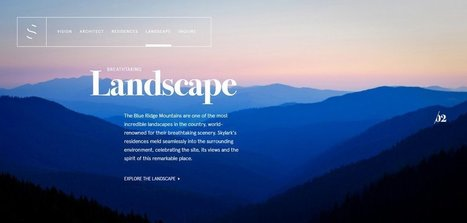 SKYLARK – Architecture responsable   Web Design Inspiration   Web design inspiration   Scoop.it