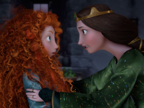 In 'Brave,' A Pixar Princess At Odds With Her Place : NPR   Brave - Changing Faces of Disney Princesses   Scoop.it