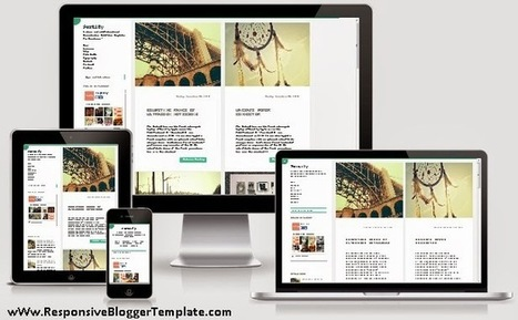 Portify Blogger Template | Free Download Template | Scoop.it