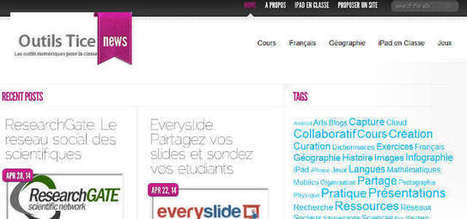 [TICE] Des ressources pour la classe - Outils TICE - Sur les bancs de l'école | Pratique du FLE dans les TIC | Scoop.it