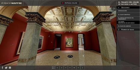 Visita virtual exposición temporal 'El triunfo del color. De Van Gogh a Matisse'. | Espacios Multiactorales | Scoop.it