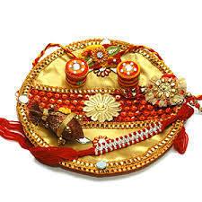 Rakhi pooja thalis | Rakhi with Dryfruits | Scoop.it