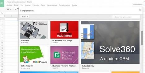 Google lanza los add-ons para Google Docs y Google Sheets   Legendo   Scoop.it