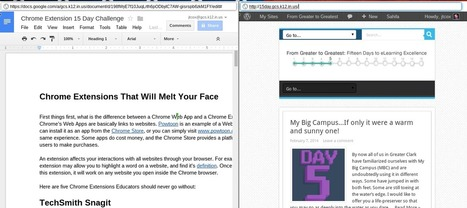 Chrome Extensions - Are you using these 5? | iGeneration - 21st Century Education | Scoop.it