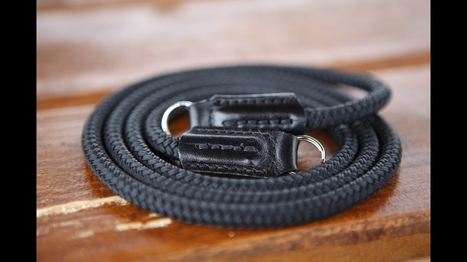 Opus Camera Strap Is Made Of Handcrafted Leather and Sailing Rope | Partage Photographique | Scoop.it