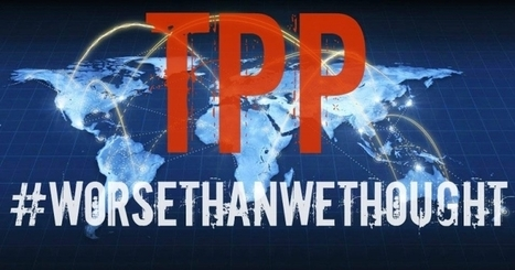 The ambitious TPP trade deal full text of 6.000 pages released to the public| glObserver Global Economics | glObserver Americas | Scoop.it