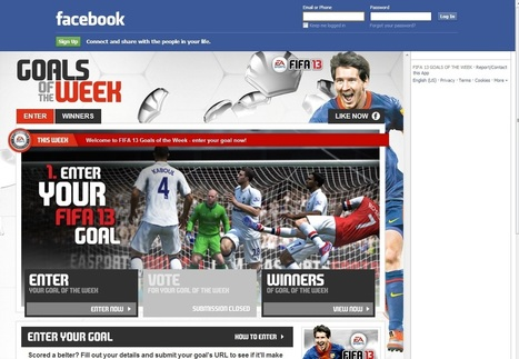 Case Study: FIFA 13 Goals of the Week from Collective London | Social Media Case Studies | Scoop.it