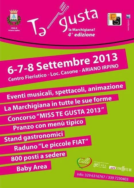 "Artigianato, agroalimentare, agroindustria e moda italiana: ""Made in Campania"" – ad Ariano Irpino – dal 6 all'8 Sett. 2013 | Madeinitaly For Me | Craft design | Scoop.it"