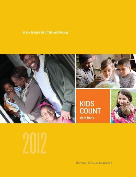 KIDS COUNT 2012 Data Book from Annie E. Casey Foundation | United Way | Scoop.it