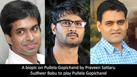 Sudheer Babu Act As Badminton champion Pullela Gopichand | Movie Latest News | Scoop.it