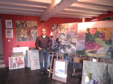 La peinture est une écriture libre à chacun d'entre nous, c'est le fait même de l'existence - Bernard Sourisseau - Peintre Paysan | Envie de Lire | Scoop.it