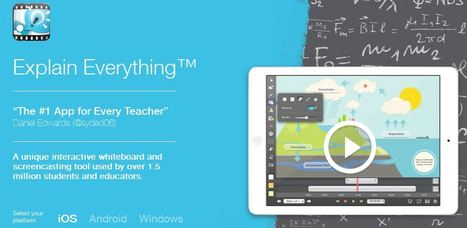 Create Killer Presentations with Explain Everything | teaching with technology | Scoop.it