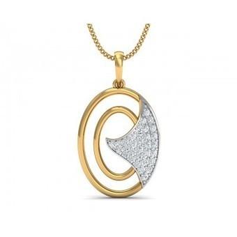 Elegant Gold Pendant for Women Online - Jewelslane | Diamond Jewellery India | Scoop.it